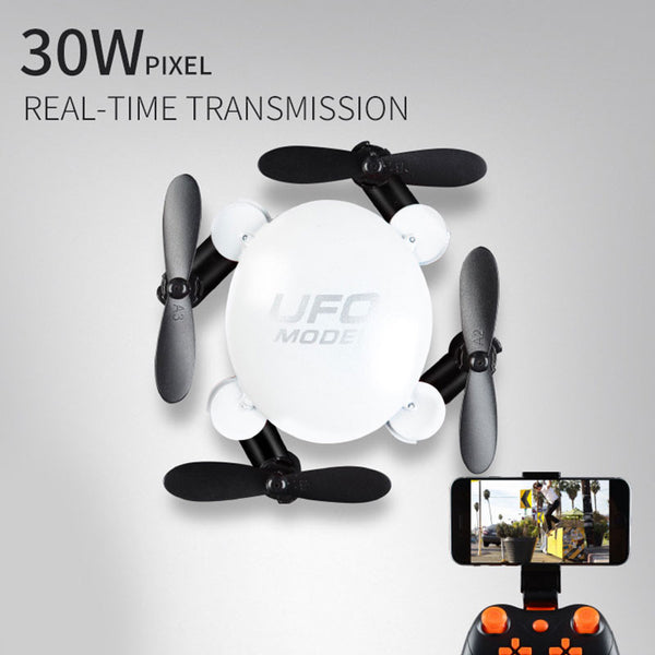 Pocket Drone RC Quadcopter High Performance Camera Video Mini Drone Plalstic 2.4GHz Head Free Rotation 3D Turn Over