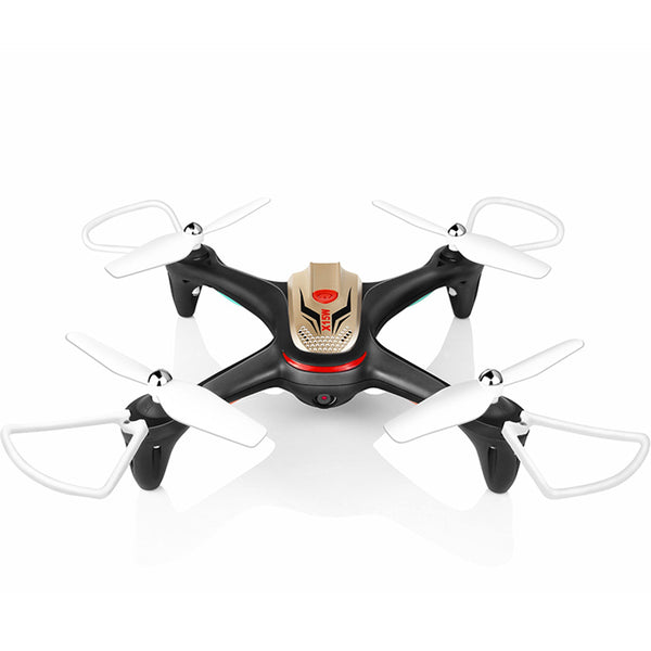 UAV Quadcopter MINI One Key Landing Altitude Hold Drone Aircraft X15W 0.3MP Flying Rolling