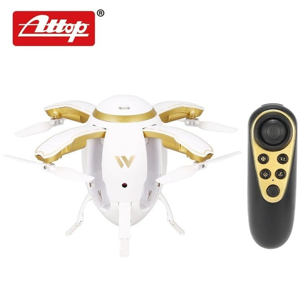 W5 Egg 2.4GHz Wifi Camera FPV Drone Foldable Selfie Mini RC Quadcopter with Altitude Hold Headless G-sensor Kids Gift