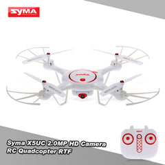 Original Syma X5UC RC Drone 2.0MP HD Camera RTF Quadcopter with Headless Mode and Barometer Set Height Function