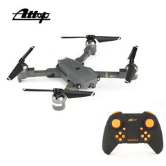 Attop XT-1 WIFI 2.4G FPV Drone Camera 3D Flip Altitude Hold Foldable One-key Take-off/Landing Headless Mode RC Quadcopter