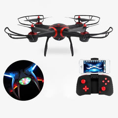 WiFi rc drone Quadcopter Aircraft Remote APP Control LED Night Vision RC Drone RC Quadcopter Headless Helicopter no Camera