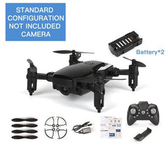 LF606 Mini Drone Quadcopter Foldable RC Drones Without Camera FPV camera HD Altitude Hold Drone Children Kid Toys RC Helicopter