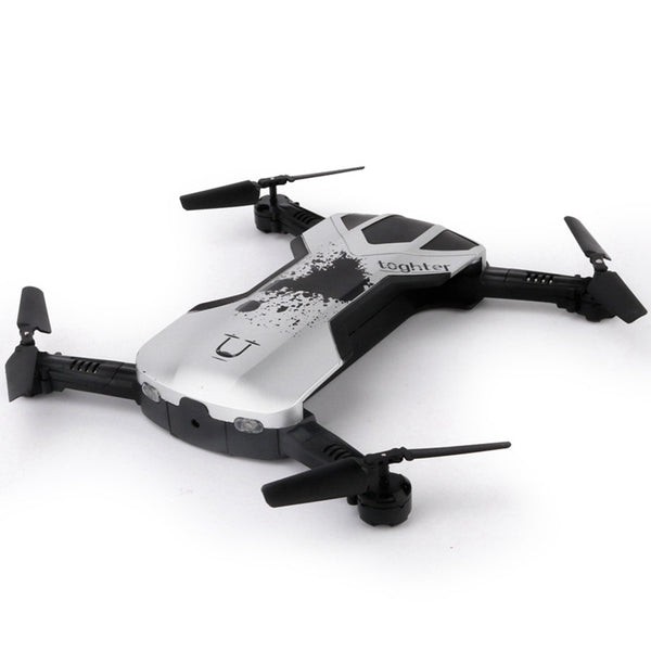 New Foldable Mini Selfie Drone Folding Aerial Four-axis Aircraft WIFI phone Control RC Helicopter Drone