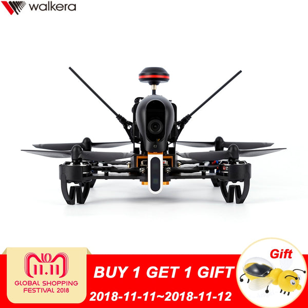 Original Walkera F210 2.4Ghz 7CH FPV Drone with Camera 700TVL DEVO7 RC Helicopter Quadcopter