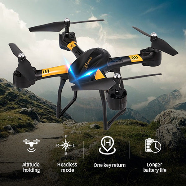 YILE TOYS S31 2.4G Headless Mode 3D Flip Altitude Hold RC Drone Training Quadcopter Christmas Gift