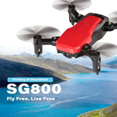 SG800 720P Wide-angle Wifi FPV Gesture Photo Video Altitude Hold Foldable RC Selfie Drone Quadcopter