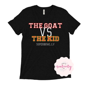 T-Shirt - The GOAT vs. The KID
