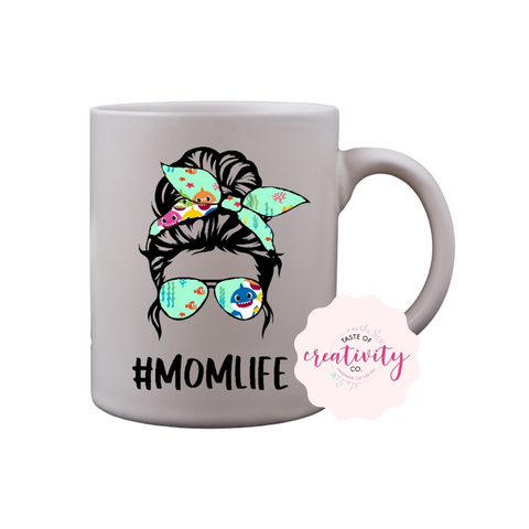 Coffee Mug - Mom Life (Baby Shark)