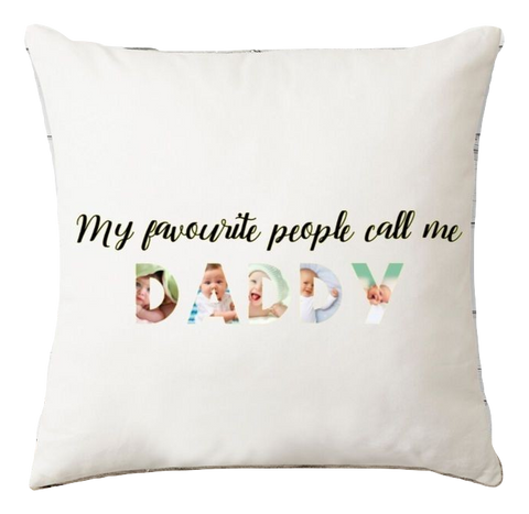 Pillow - My Favourite People Call Me... Picture Pillow - Taste Of Creativity CO.