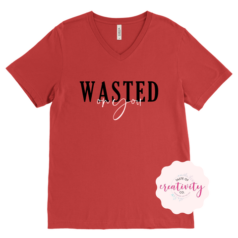 T-Shirt - Wasted on You (Morgan Wallen Inspired)