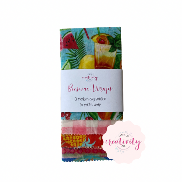 Botanical Creations - Beeswax Wraps