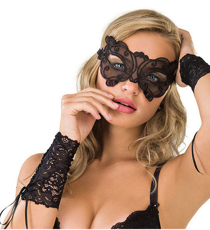 Seductive Masque Lace Eye Mask