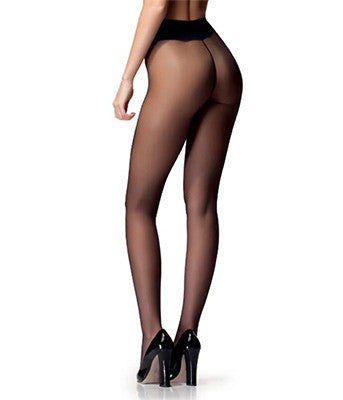 Thong Pantyhose Completely Transparent 10 Den Aloe Vera