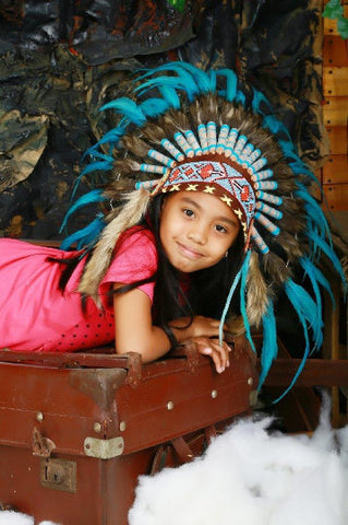 tipi / tepee / tipi / teepee Tent + Children Headdress