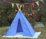 tipi / tepee / tipi / teepee Tent Animals .POLES NOT INCLUDED.