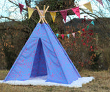 tipi / tepee / tipi / teepee Tent Animals . 4 POLES INCLUDED