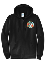 Load image into Gallery viewer, CYDONIA RABBIT STEW Zip-Up Hoodie