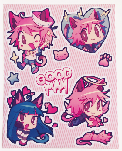 BYUBYU Sticker Sheet