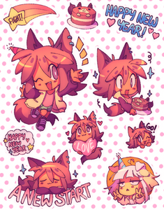 LOREM Planner Sticker Sheet