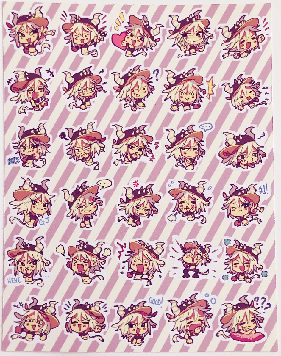 CREME Planner Sticker Sheet