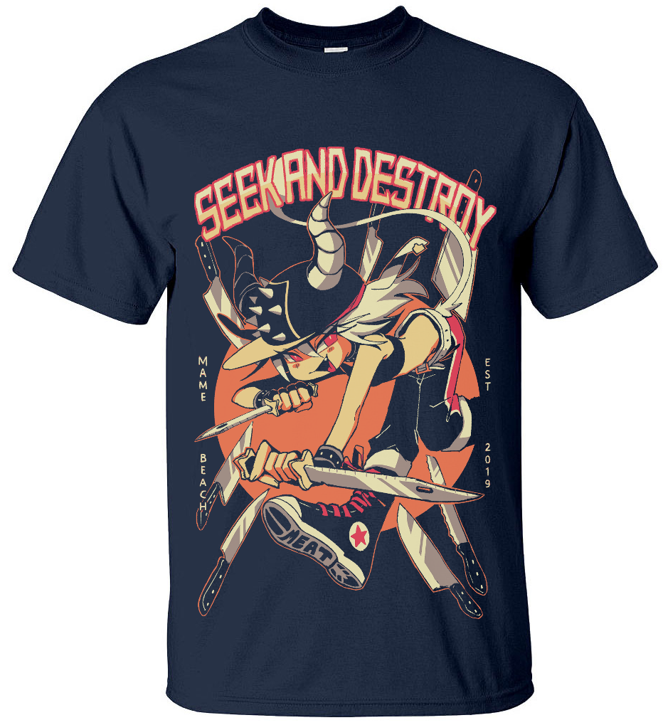 SEARCH AND DESTROY - CREME Shirt