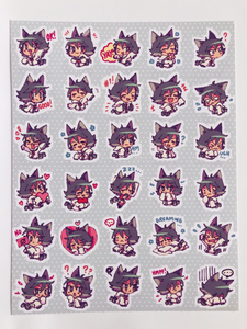SEACASTLE Planner Sticker Sheet