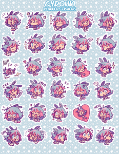CYDONIA Planner Sticker Sheet