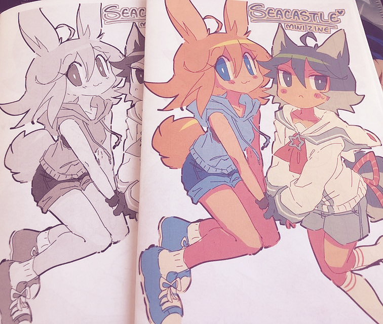 SEACASTLE Mini Zine
