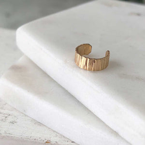 Wide Ear Wrap - 14k gold-fill