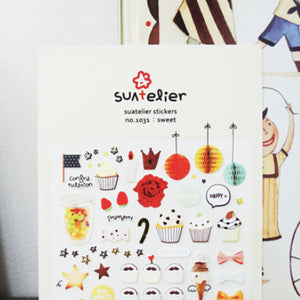 Suatelier Stickers - 1031 Sweet