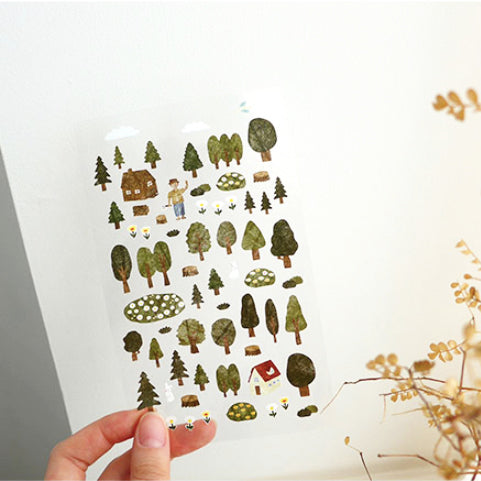 Suatelier Stickers - 1098 Forest