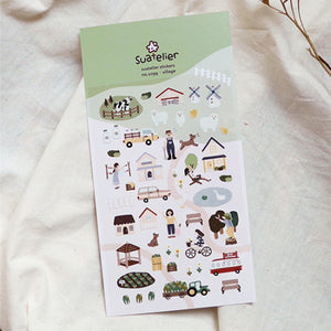 Suatelier Stickers - 1099 Village