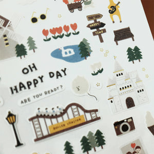 Suatelier Stickers - 1106 Oh Happy Day