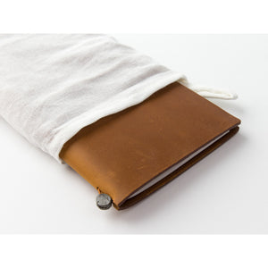 Traveler's Notebook Camel - Regular Size - Leather Journal Notebook Kit