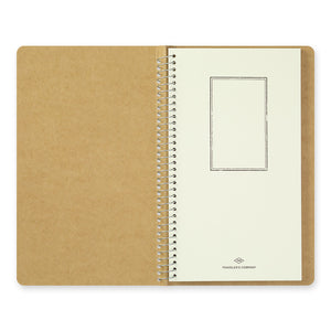 Midori Traveler's Company TRC Spiral Ring Notebook - A5 Slim - Watercolor Paper