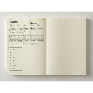 2021 Midori MD Notebook CODEX - 1 Day 1 Page Dot Grid - A5