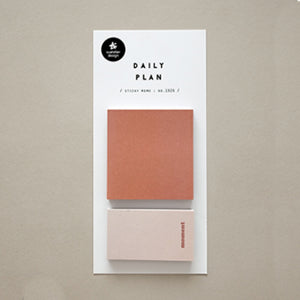 Suatelier Sticky Notes - 1926 Daily Plan 20