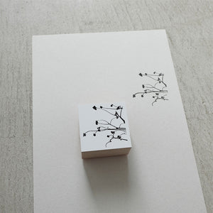 Yohaku Rubber Stamp - S-011 - Chinese Tallow