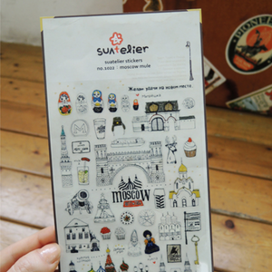 Suatelier Stickers - 1022 Moscow Mule