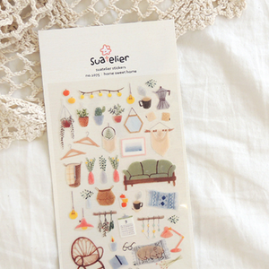 Suatelier Stickers - 1075 Home Sweet Home