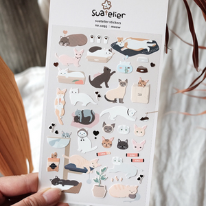 Suatelier Stickers - 1093 Meow