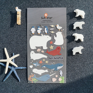Suatelier Stickers - 1071 Sea Animals