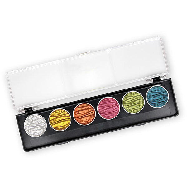 Coliro Finetec Watercolor - 6 Color Set - Candy