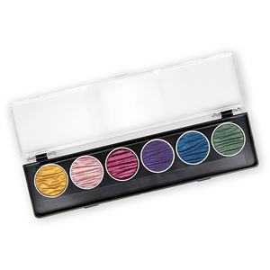 Coliro Finetec Watercolor - 6 Color Set - Rainbow