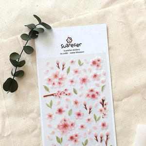 Suatelier Stickers - 1086 Water Blossom