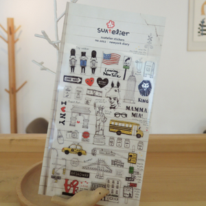 Suatelier Stickers - 1012 New York Diary