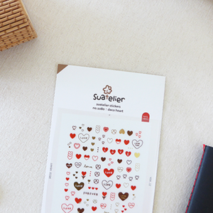 Suatelier Stickers - 1080 Deco Heart