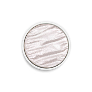 Coliro Finetec Watercolor - Single 30mm Pan - Silver Pearl