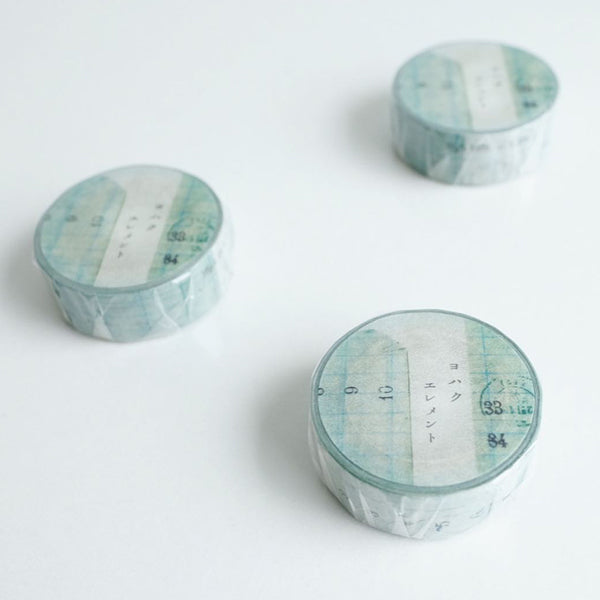Yohaku Washi Tape - Y-064 Element